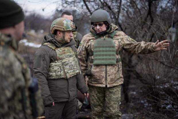 Зеленский с Хомчаком как символ украинского государства