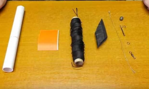 Материал для самодельной поставушки на щуку
