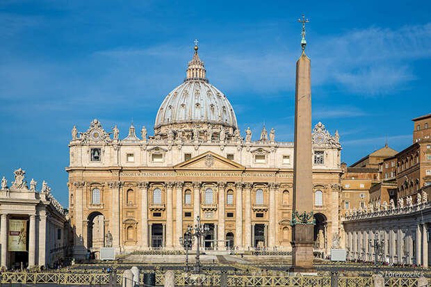 Собор святого Петра в Ватикане.