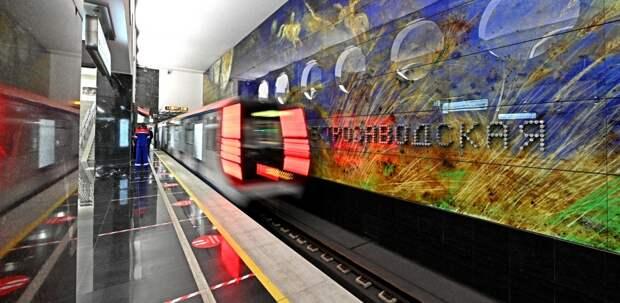 На станции «Электрозаводская» БКЛ сооружают пересадку на синюю ветку метро и ж/д платформу