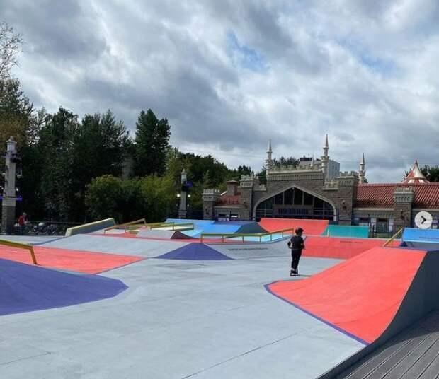 Скейт-парк «Бригантина» будет работать до 30 сентября