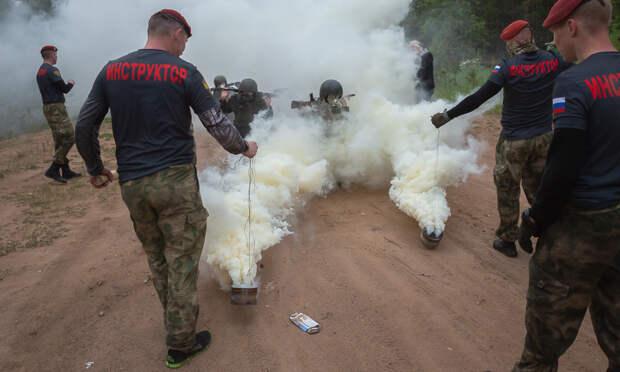 ВАрхангельске силовики прошли испытания накраповые береты