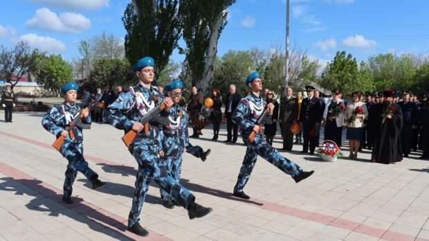 В Кировском раи?оне прошли торжества, посвященные 76-ой годовщине со Дня Победы в Великои? Отечественнои? вои?не