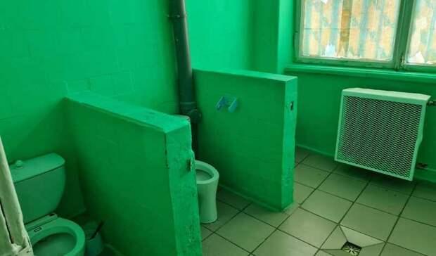 Вконкурсе насамый худший школьный туалет участвуют несколько свердловских школ
