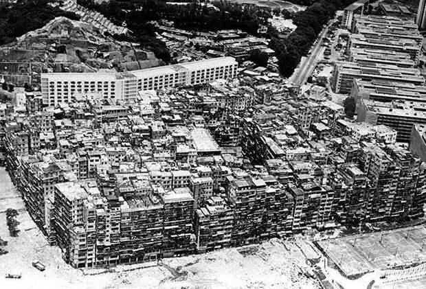 Печальная история китайского города-крепости Коулуна, который снесли в 1994 году город, интересно, история, китай, познавательно, факты