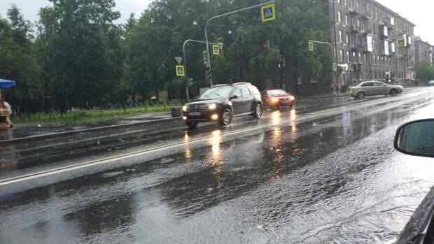 В Ленинградской области объявлено штормовое предупреждение