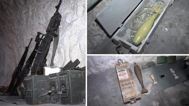 Made in USA: в пещере ИГ* обнаружили горы западного оружия