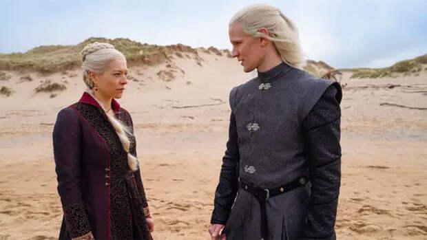 """Появились первые кадры сериала-приквела """"Игры престолов"""""""