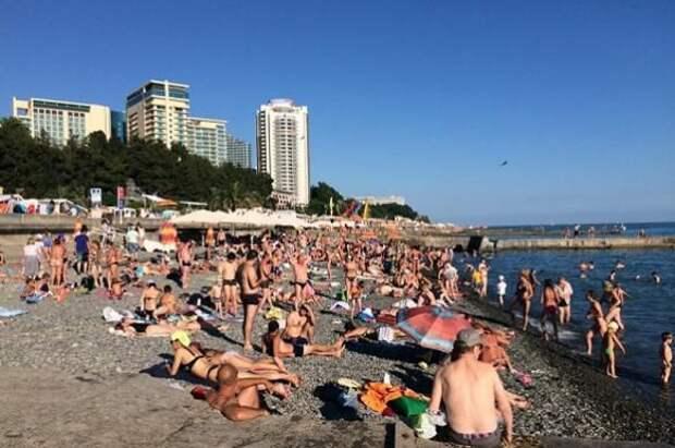 Смешной случай на пляже