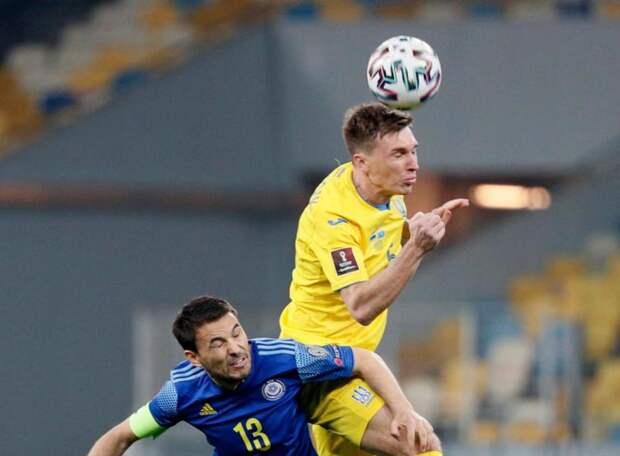 Сенсация в Нур-Султане! Украина вновь теряет очки в матче с Казахстаном