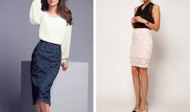 Кружевные юбки на лето 2020 — С чем их носить?
