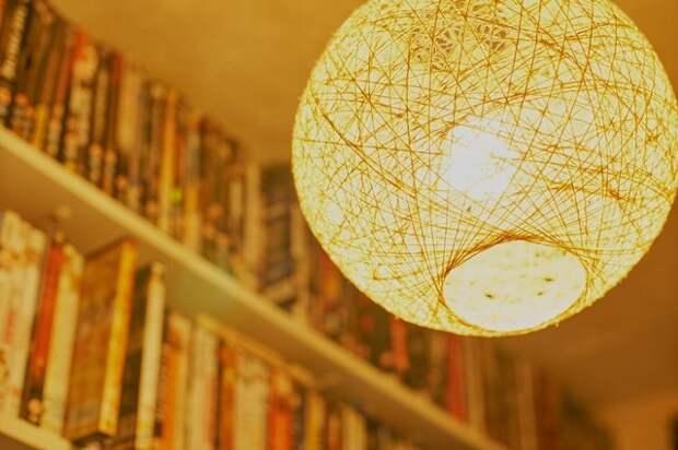 Делаем шар-светильник