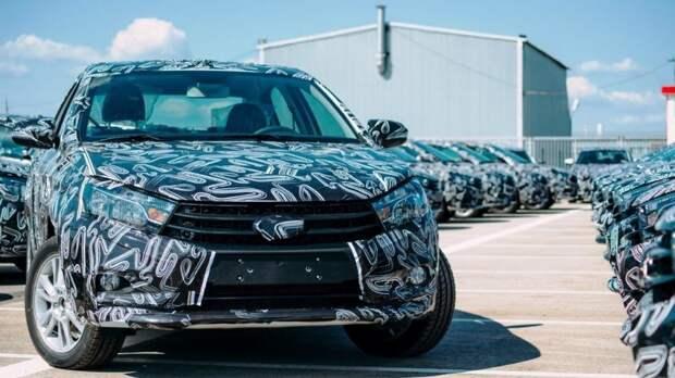 Новая Lada Vesta FL получит обогрев боковых зеркал и бесключевой доступ