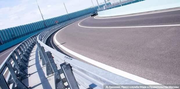 Собянин: СВХ - один из крупнейших дорожных проектов Москвы за всю ее историю. Фото: Д. Гришкин mos.ru