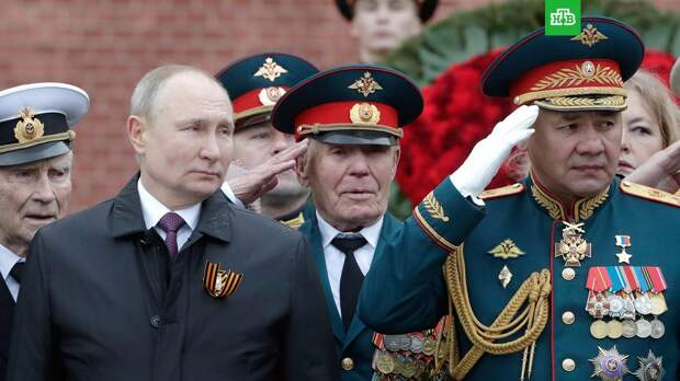 Путин и Шойгу высоко оценили парад на Красной площади