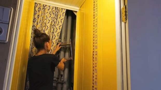 Бюджетный ремонт в старом хрущёвском туалете 1*1 м