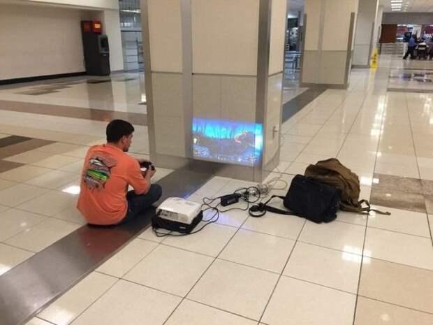 Забавные ситуации в аэропортах