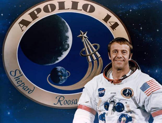 Алан Бартлет «Эл» Шепард-младший (1923-1998), командир корабля «Аполлон-14», был на Луне 5-6 февраля 1971 года.