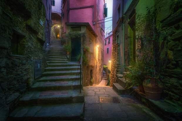 Сказочные разноцветные улочки Чинкве-Терре