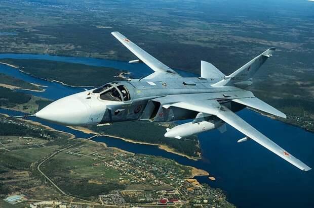 Су-24 без боекомплекта разбился в Пермском крае