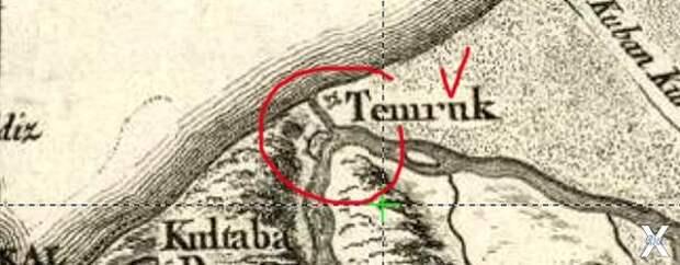 Карта 1774 года