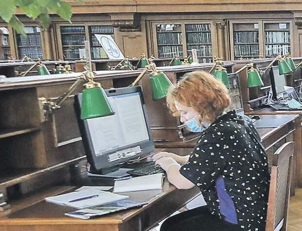 В библиотеки первыми пришли самые верные читатели/Агентство «Москва»