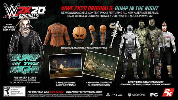 WWE 2K20 Новые подробности о DLC
