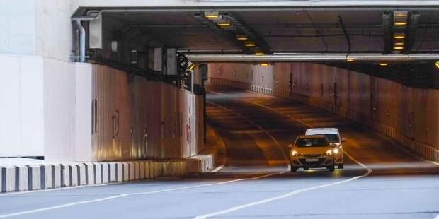 Тоннель, соединяющий Строгино и Крылатское, открыли для движения досрочно