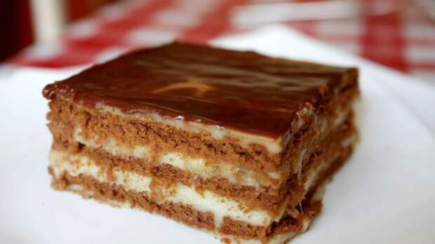 Рецепт вкусного тортика без выпечки за 25 минут