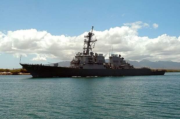 Сторожевой корабль США Hamilton покинул воды Чёрного моря