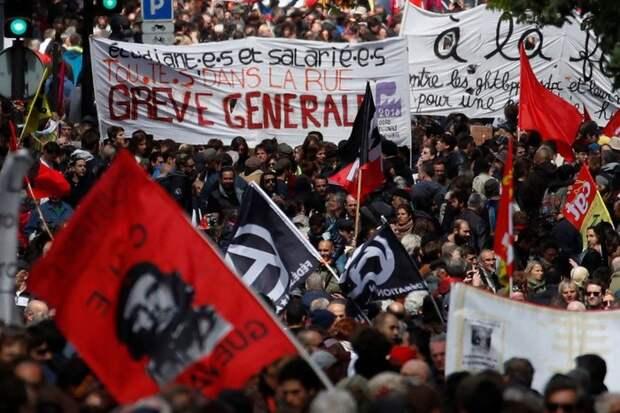 1 мая 2018. Европа. [1] 1 мая, красный первомай, фотография, Великобритания, Франция, Коммунизм, Польша, политика, длиннопост