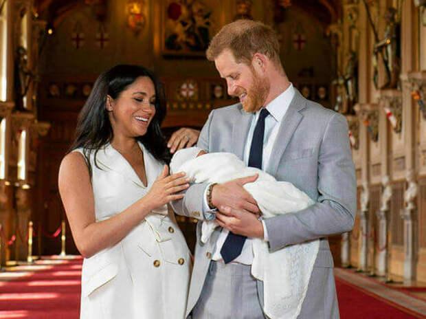 Британцы раскритиковали имя новорожденной дочери Меган Маркл и принца Гарри