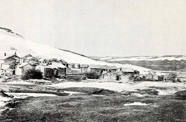 Саамское поселение на месте Островного, 1904 год