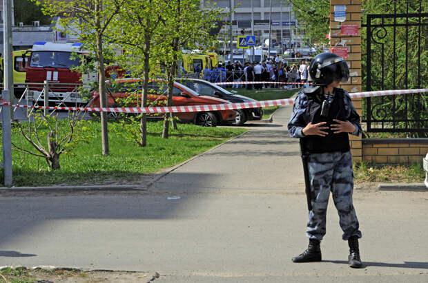 Школу в Казани эвакуировали после сообщения о минировании