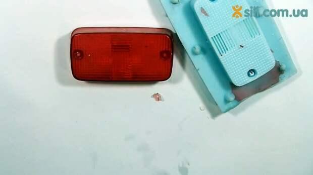Льем тонкостенные детали из прозрачного пластика своими руками