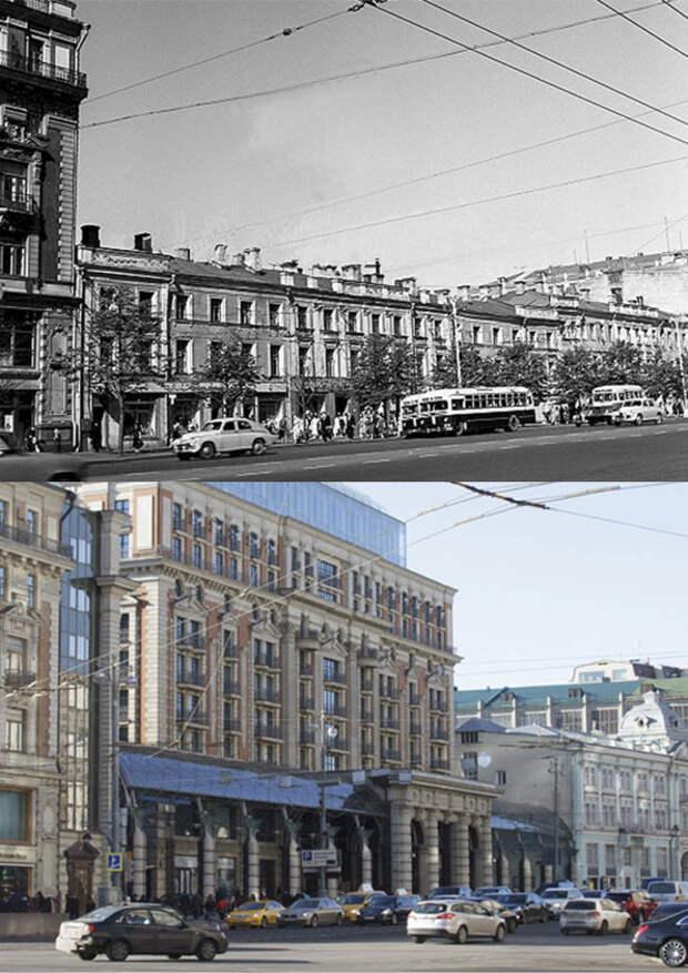Ленинградский проспект Москвы: ретроспективный взгляд