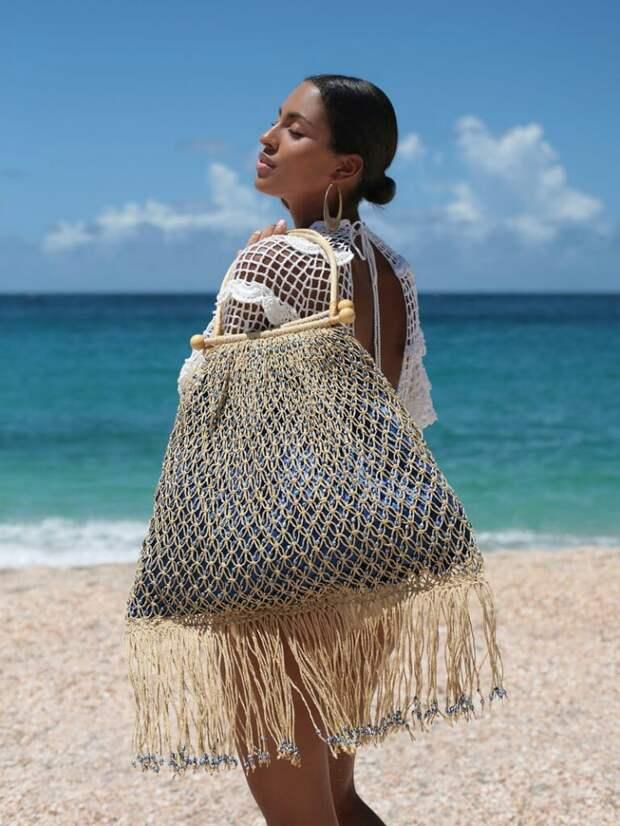 Новый тренд лета: сумки-макраме