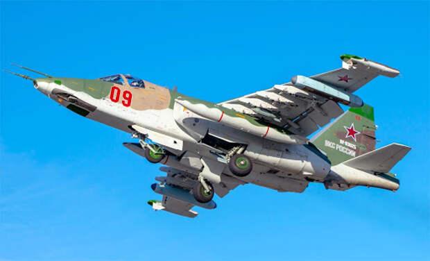 Штурмовики Су-25 переброшены в Крым
