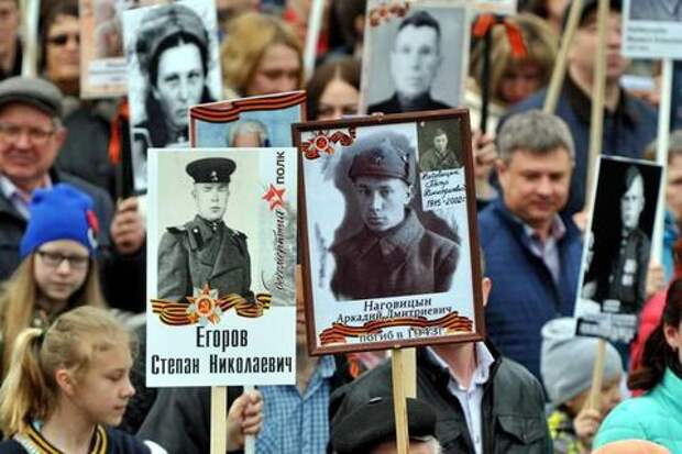 В России «Бессмертный полк» снова пройдет в он-лайн формате