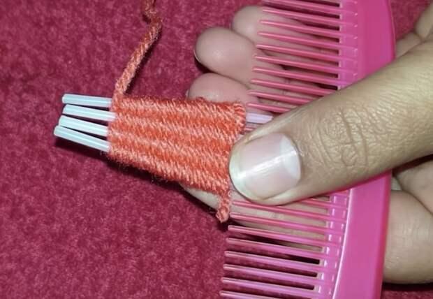 Расческа + ватные палочки = полноценный аксессуар
