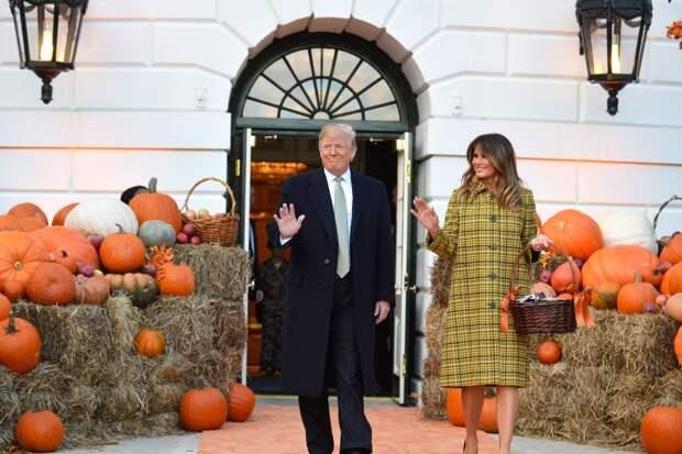 Самые стильные моменты Мелании Трамп. Часть 2