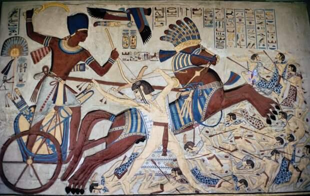 Египетский меч хопеш: символ могущества державы фараонов