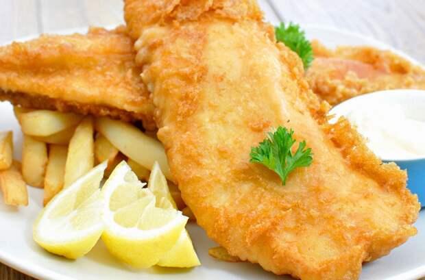 рецепты кляра для рыбы
