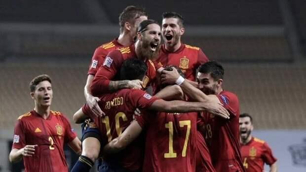 Футболисты сборной Испании сдали отрицательные тесты на коронавирус