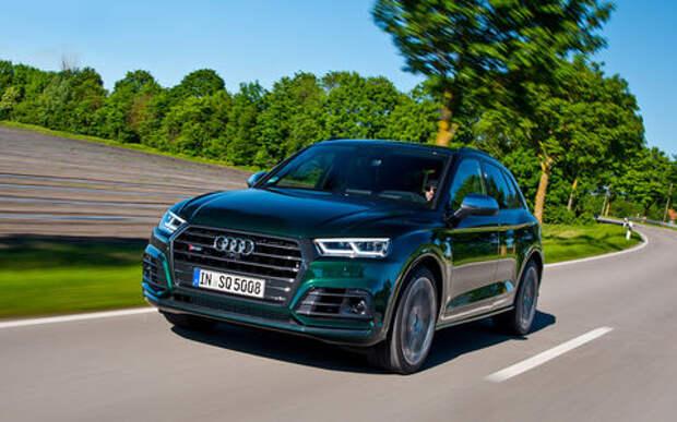 Спортивный семьянин Audi SQ5 - тест ЗР