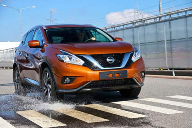 Новый Nissan Murano: мы поездили на нем первыми!