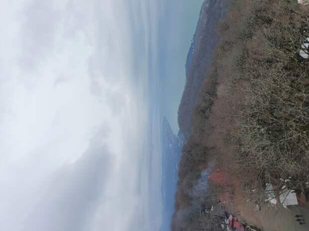 вид с горы Азун