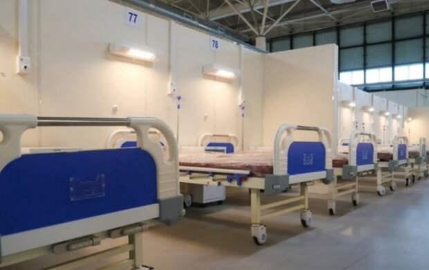 В петербургских больницах разворачивают дополнительные койки из-за роста заболеваемости COVID-19