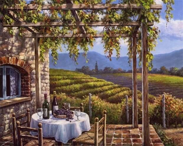 Очарование пейзажей корейского художника Sung Kim