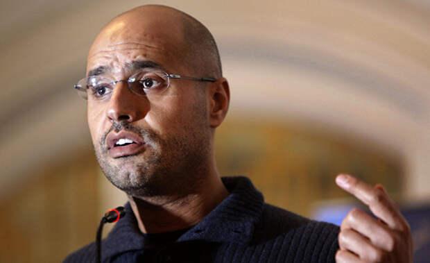 Ливийский инженер и политический деятель Саиф аль-Ислам Каддафи